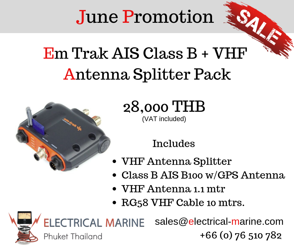 AIS Promotion at Electrical Marine